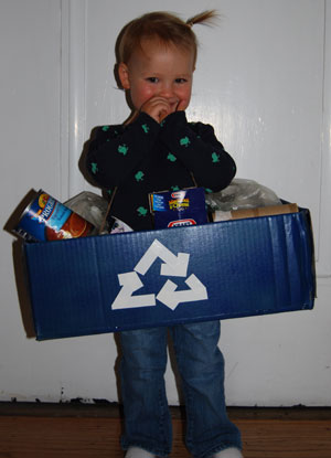 Don't recycle the baby!