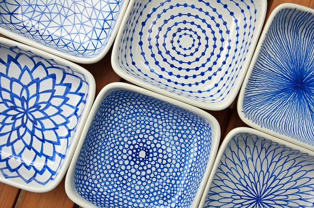 How to avoid the heat the before after diy blog for Cute pottery designs