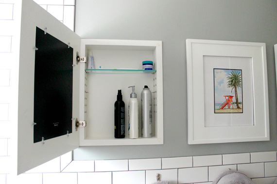 built in medicine cabinet diy | Roselawnlutheran