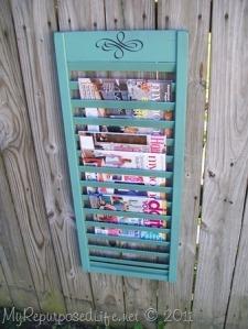 magazine rack shutters